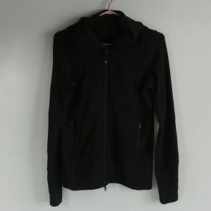 Lululemon Women's Black Full Zip Hoodie Jacket Sz6